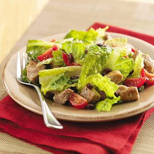 Barbecue Pork Salad