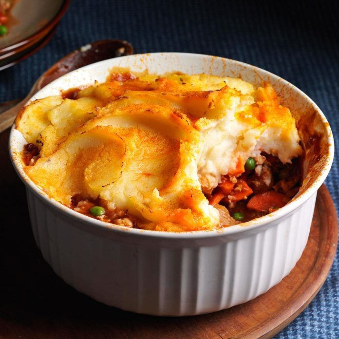 Barbecue Shepherd's Pie