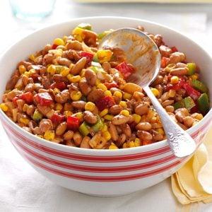 Barbecued Bean Salad