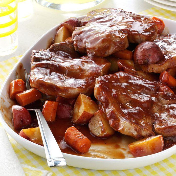 46: Barbecued Pork Chop Supper