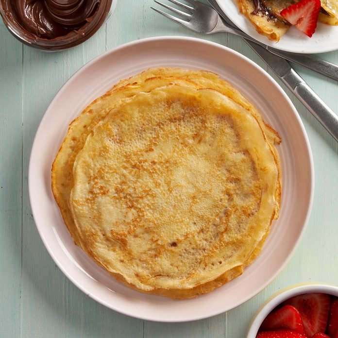 Basic Crepes Recipe How To Make It Taste Of Home
