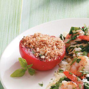 Basil Baked Tomatoes