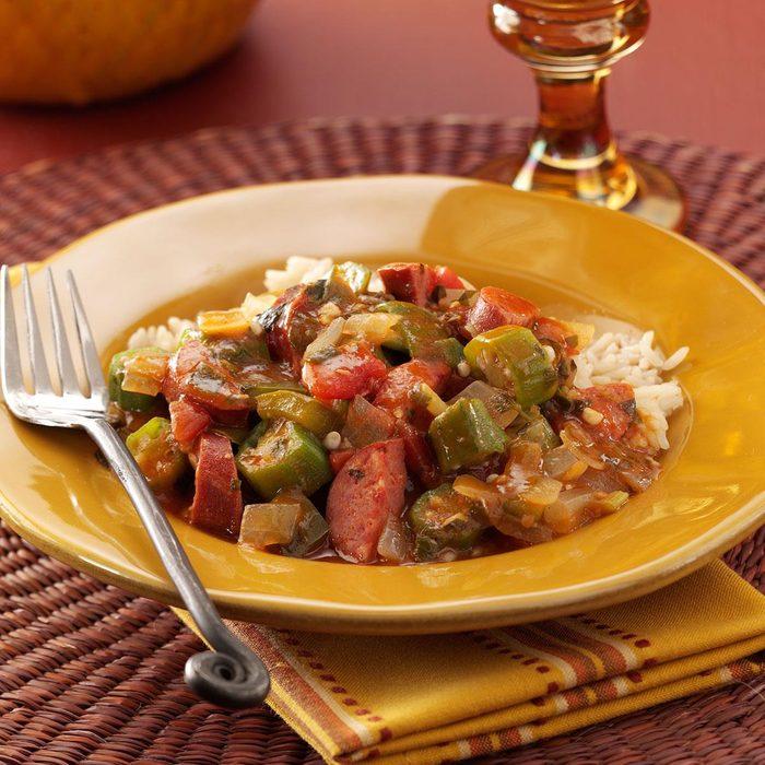 Bayou Okra Sausage Stew Exps122080 Baftb2302838a03 09 2bc Rms