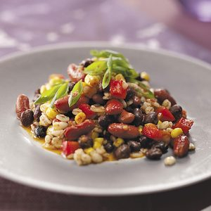 Bean &  Barley Salad