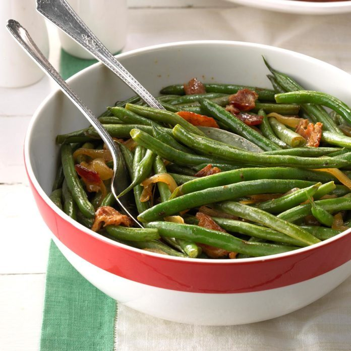 Green Beans: Beans 'n' Caramelized Onions