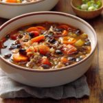 Beef & Black Bean Soup