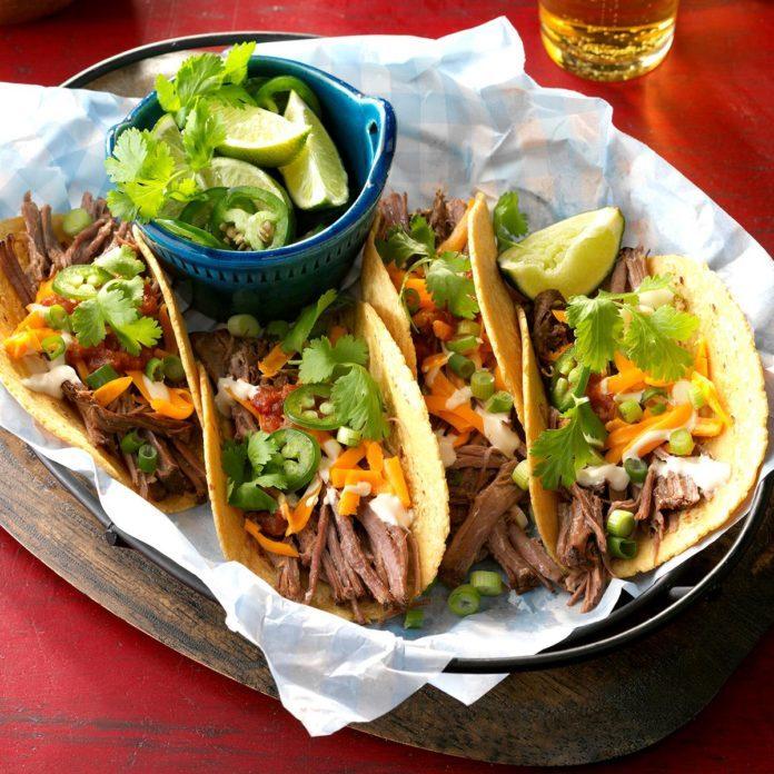 Houston Rockets: Beef Brisket Tacos
