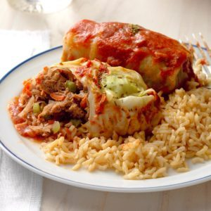 Beef Cabbage Roll-Ups