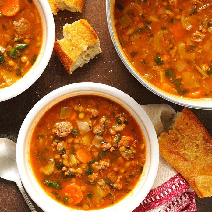 Beef Lentil Soup