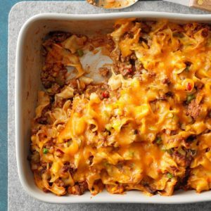 A 7-Day Meal Plan with Prep-Ahead Casseroles