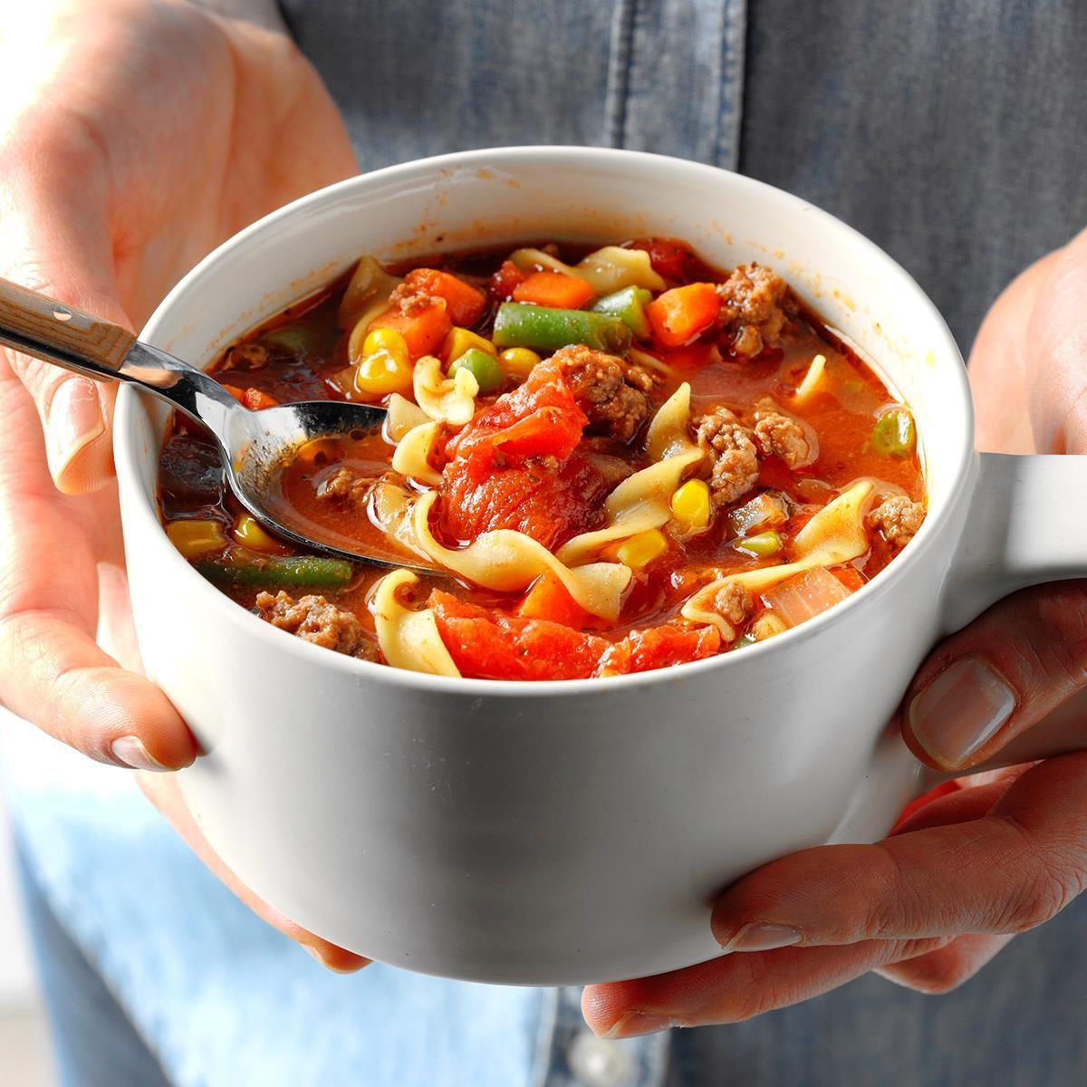Washington: Beef Noodle Soup