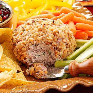 Beef & Onion Cheese Ball