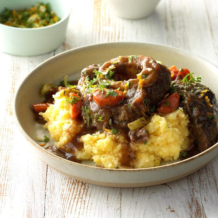 Inspired by Jan's Dinner Party Osso Buco