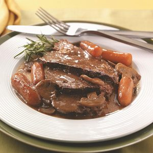 Beef Roast with Gravy