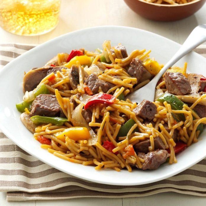 Beef Teriyaki Noodles