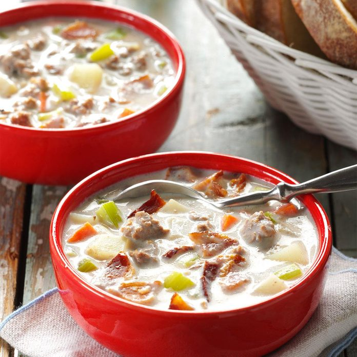 Beefy Bacon Chowder