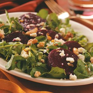 Beet Salad with Orange Vinaigrette