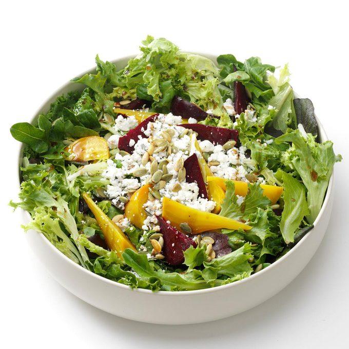 Beets & Greens Salad