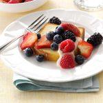 Berries & Cream Bruschetta