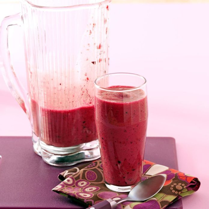 Berry Breakfast Smoothies