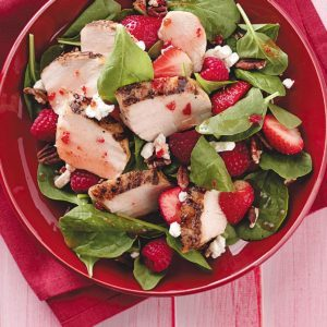 Berry Chicken Salad for Two