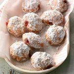Berry-Filled Doughnuts