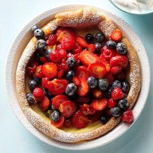 Berry Puff Pancake