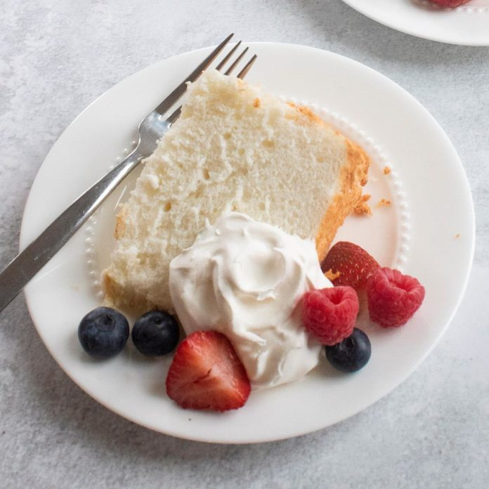 Iowa: Best Angel Food Cake