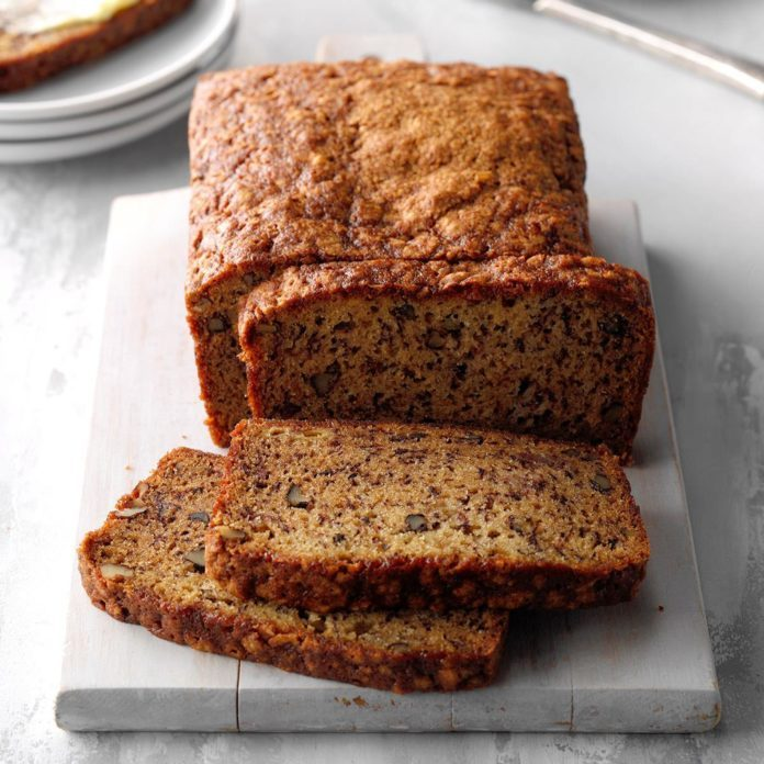 Best ever banana bread recipe taste of home best ever banana bread forumfinder Image collections