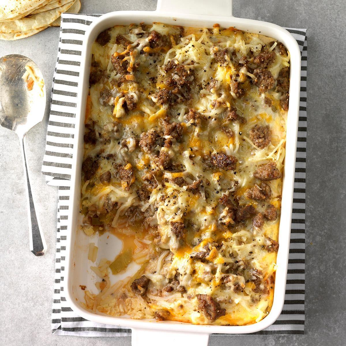 Chiles Rellenos Breakfast Bake