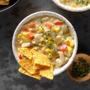 Best Ever Chicken Fajita Chowder