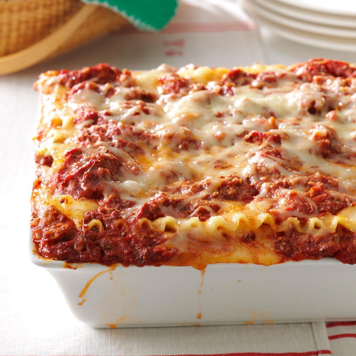 Best Lasagna Recipe | Taste of Home