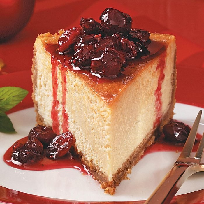 Best Maple-Cranberry Cheesecake