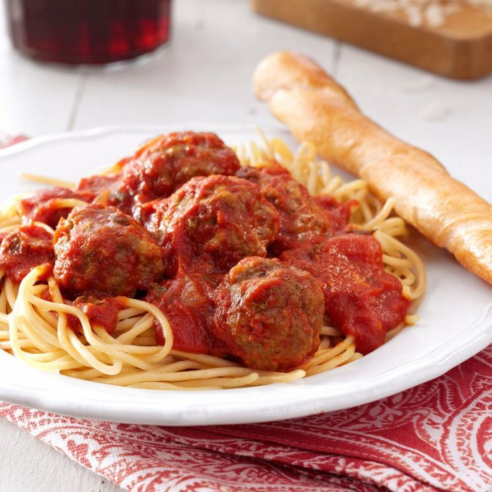 Inspired by: Spaghetti and Meatballs at Spaghetti Warehouse