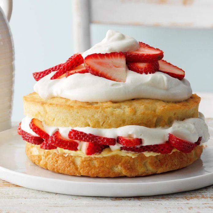 Best Strawberry Shortcake