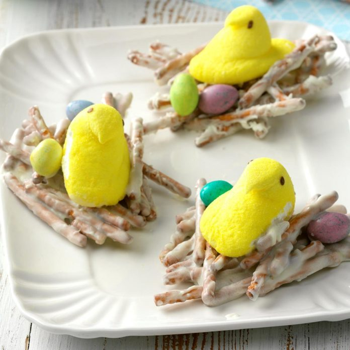 Easter peeps centerpiece taste of home