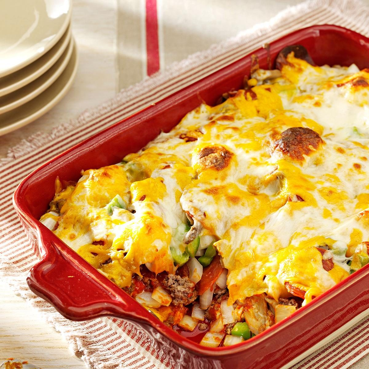 Biscuit Pizza Bake