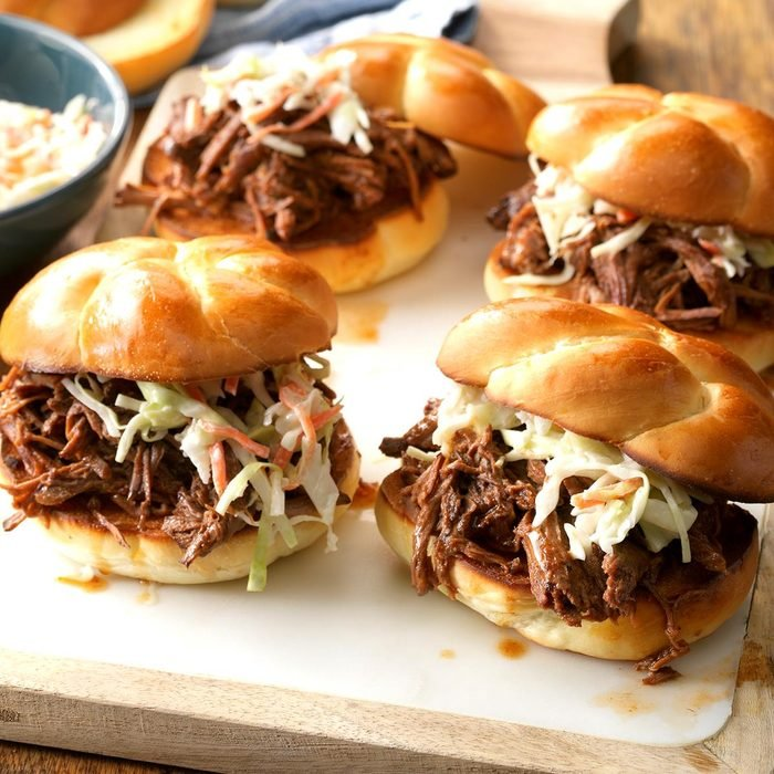 Bistro Beef Barbecue Sandwiches
