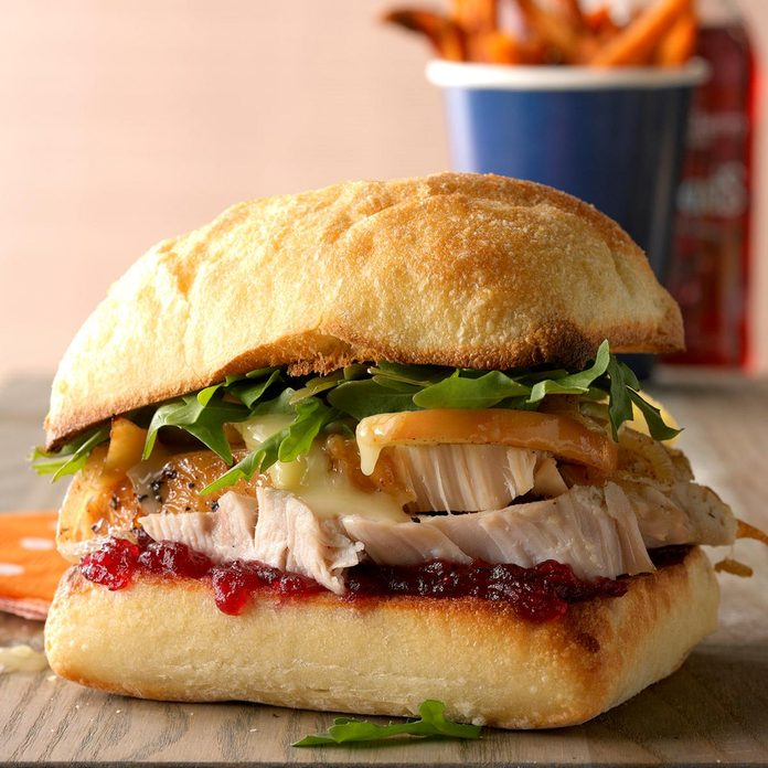 Inspired by: Starbucks Holiday Turkey and Stuffing Panini