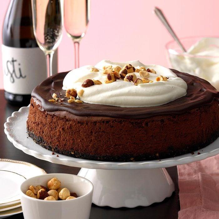 Bittersweet Chocolate Cheesecake