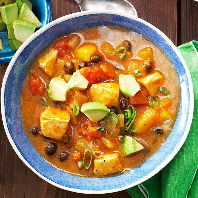 4: Black Bean 'n' Pumpkin Chili