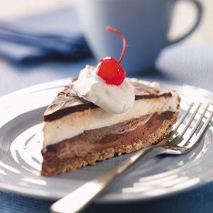 Black-Bottom Ice Cream Pie