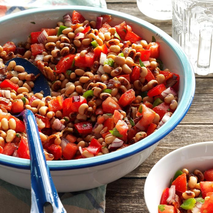 Black-Eyed Pea Tomato Salad