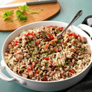 Black-Eyed Peas & Ham