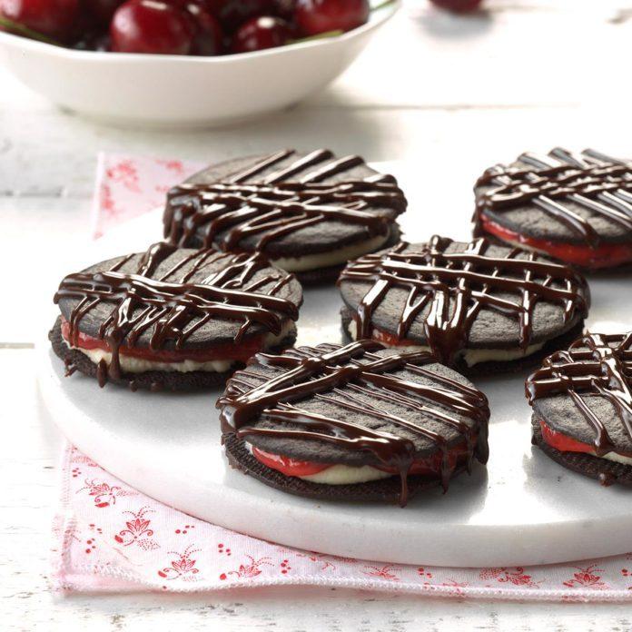 Day Eighteen: Black Forest Icebox Cookies