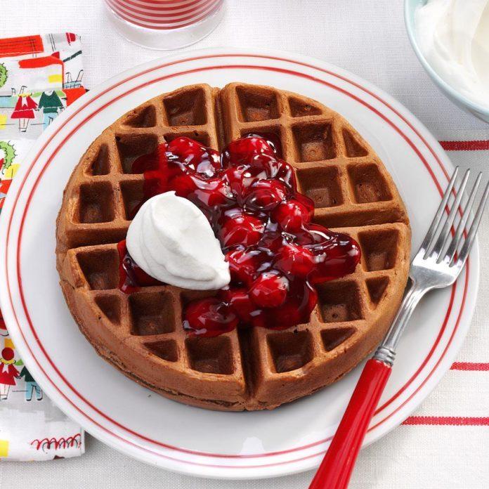 Black Forest Waffles