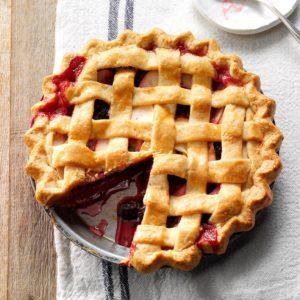 Blackberry Apple Pie