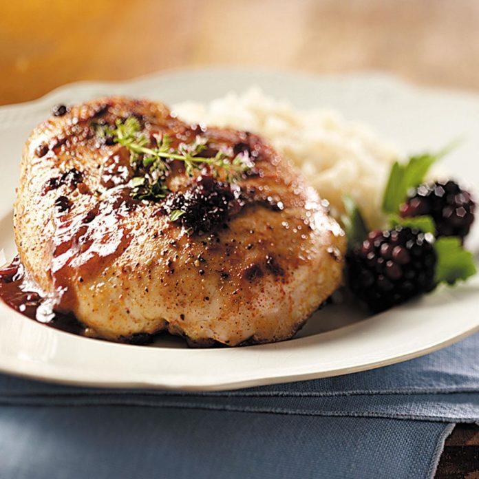 Blackberry Chicken