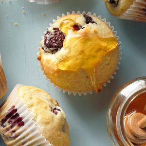 Blackberry Fruit Muffins