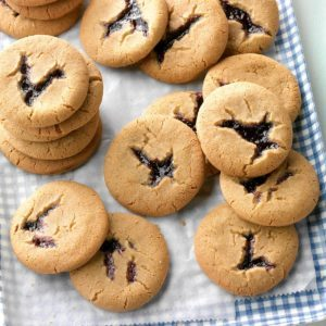 Blackberry Peekaboo Cookies